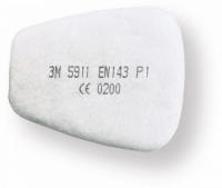 Priešfiltriai 5911 3M P1